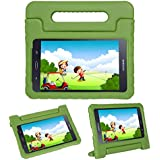 i-original Compatible Galaxy Tab A 8(T380/T385) Case Stand - Kids Toddlers Tablet Holder Cover Shockproof Protective Eva Foam Lightweight Carry Handle Case for Samsung Galaxy Tab A 8 Inch 2017 (Green)