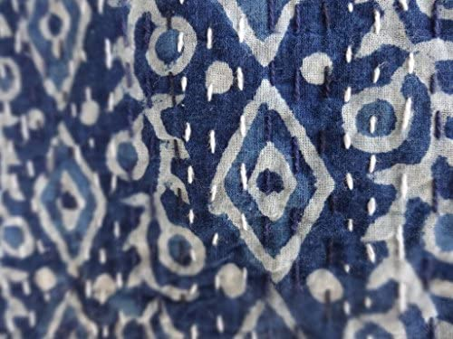 couette indienne, couvre lit indien, Kantha Quilt, couvre-lit 220x240, couvre lit ethnique, Couette Réversible