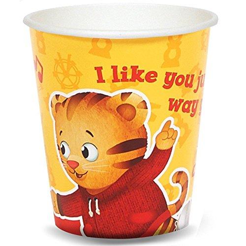 Daniel Tiger Party Supplies - 9 oz. Paper Cups (48)