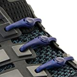 Hickies 1.0 One Size Fits All Elastic No Tie Shoelaces - Navy (14 Hickies Laces, Works In All Shoes) | amazon.com