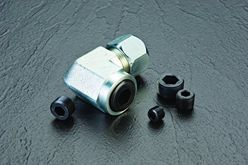 Caplugs QTH111KA1 Plastic Hex Socket Threaded Plug. TH-11, HDPE, To plug thread size 1-11-1/2'', Black (Pack of 160) by Caplugs (Image #2)
