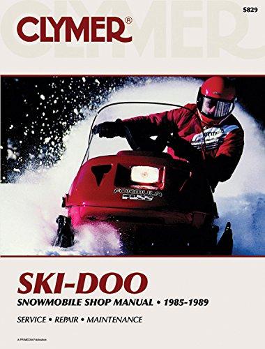 Clymer Ski-Doo Snowmobile Shop Manual, 1985-1989: Service, Repair, Maintenance (S829)