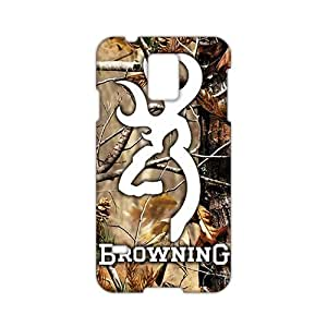 Angl 3D Case Cover Browning Logo Phone Case for Samsung Galaxy s 5