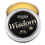 Wisdom Beard Dry Oil | Natural Balm, Woodsy Scent | 2 OZ