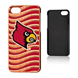 Keyscaper NCAA Louisville Cardinals UL Wave Cherry Case, iPhone 8/7, Wood