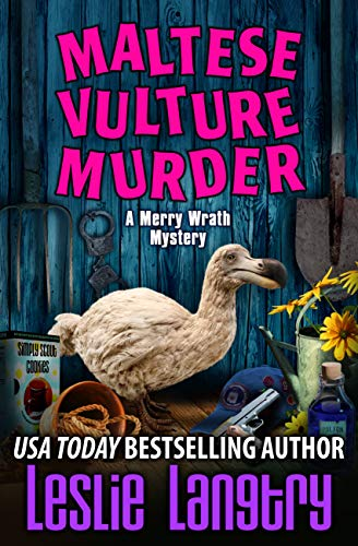 Maltese Vulture Murder (Merry Wrath Mysteries Book 13) by [Langtry, Leslie]