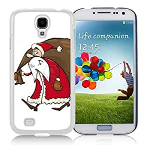 Personalize offerings Samsung S4 TPU Protective Skin Cover Santa Claus White Samsung Galaxy S4 i9500 Case 21