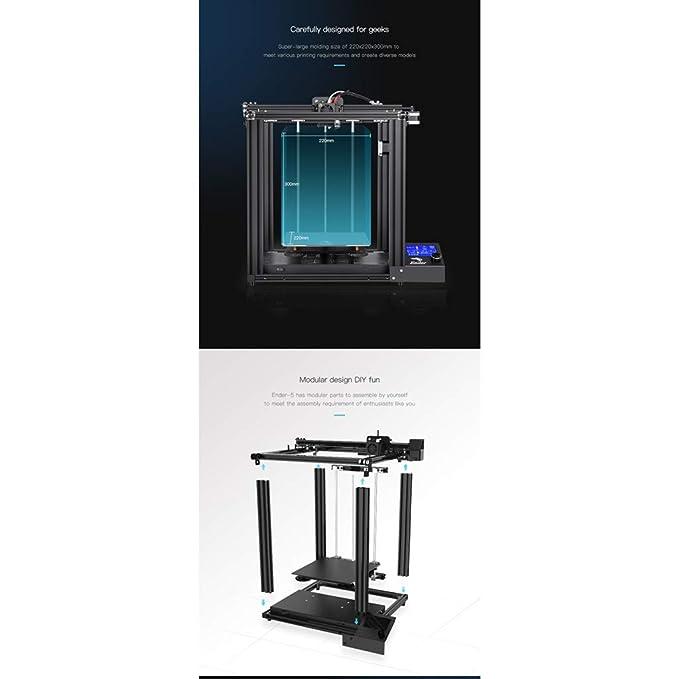 XHZ-Z Impresora 3D Doméstica Ender-5, Tamaño De Impresión 220 ...