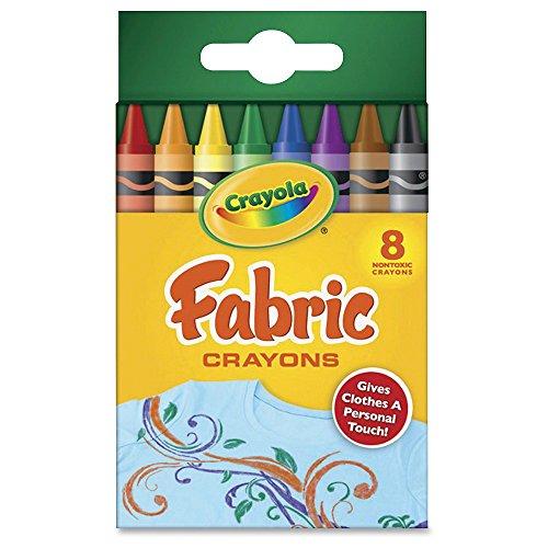 Crayola 52 5009 8 Count Fabric Crayons