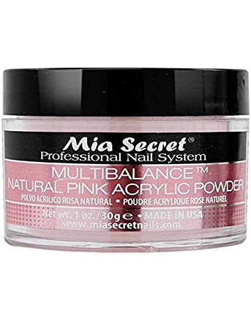 Mia Secret acrílico Nail Art polvo, 30 ml, Natural, color rosa