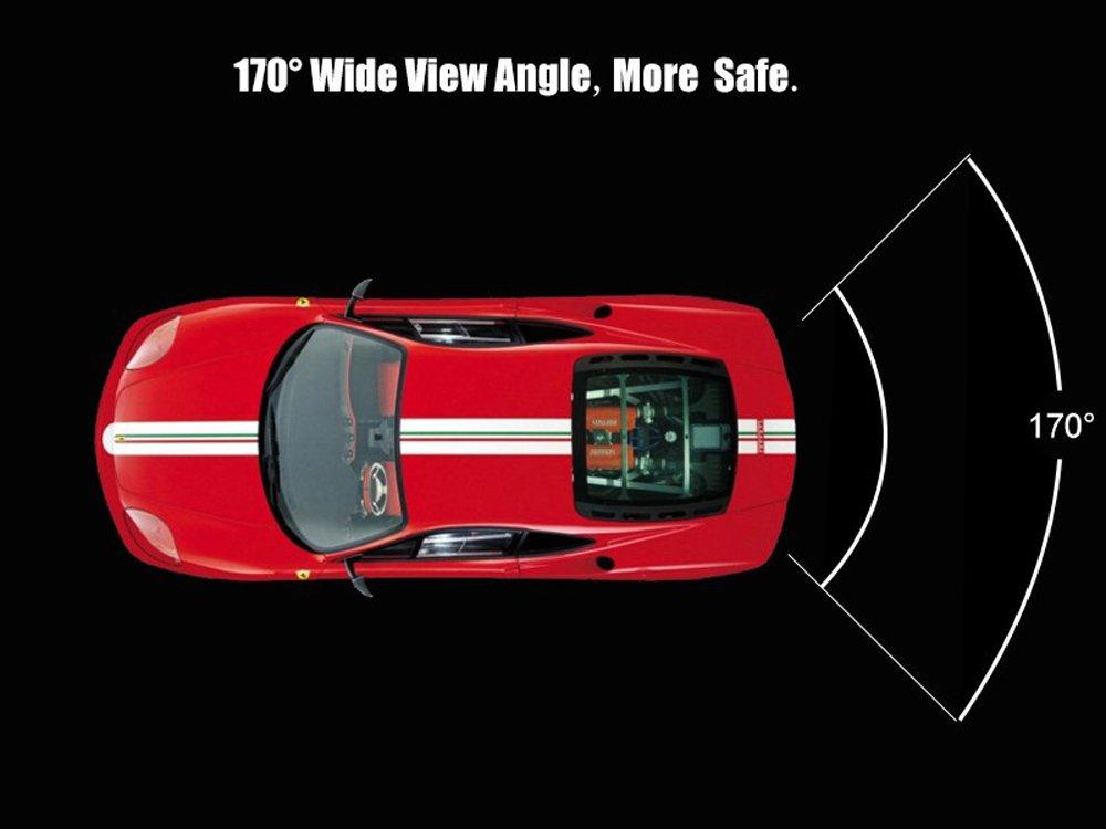 B6//B7//B8 Dynavision Vista posteriore luce targa telecamera per auto Macchina Fotografica di Retrovisione di HD dinversione di Sostegno Telecamera posteriore per Audi A3 A4 Q5 Q7 A8 S8