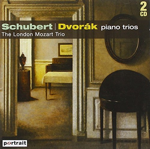Dvorak Piano Trios 1 & 4 ('Dumky'). Schubert Piano Trios 1 & 2. (The London Mozart Trio. Tota