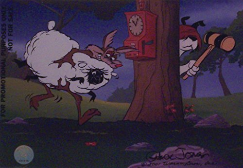 """Chuck Jones Artwork Depicting Sam Sheep Dog and Ralph Wolf. Ltd Print Matted to 8"""" x 10"""" from Looney Tunes"""