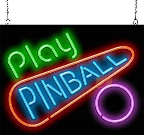 930ed64fd4dc Play Pinball Neon Sign - Picture Lights - Amazon.com