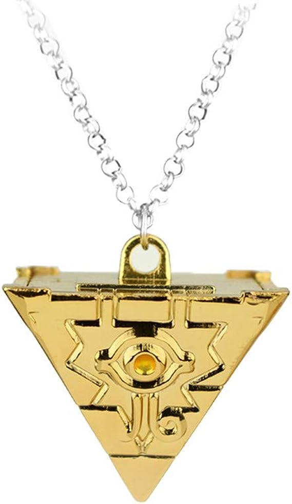 CUSTOM Yu-gi-oh YGO Millenium Puzzle necklace lifesize replica