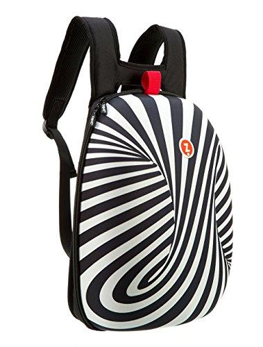 ZIPIT Shell Laptop Backpack, Black & White (ZSHL-BWS)