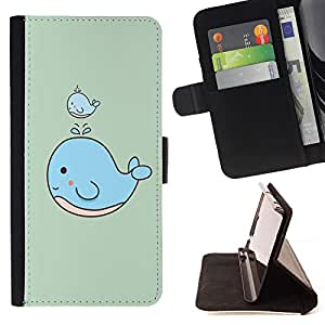 King Case - FOR Apple Iphone 4 / 4S - ?by his actions - Prima caja de la PU billetera de cuero con ranuras para tarjetas, efectivo Compartimiento desmontable y correa para la mu?eca