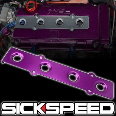 Purple Billet Aluminum Anodized B Series Spark Plug Cover For B16a B16a1 Dc2 Ek for Acura Integra -