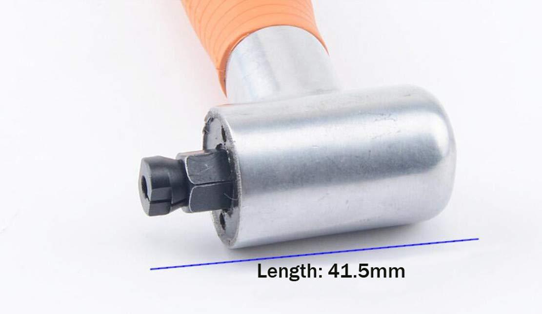 T-king Handheld Pneumatic Abrasive Pen 90 Degree Elbow Grinding Machine Engraving Lettering Pen Grinder Polishing Tool