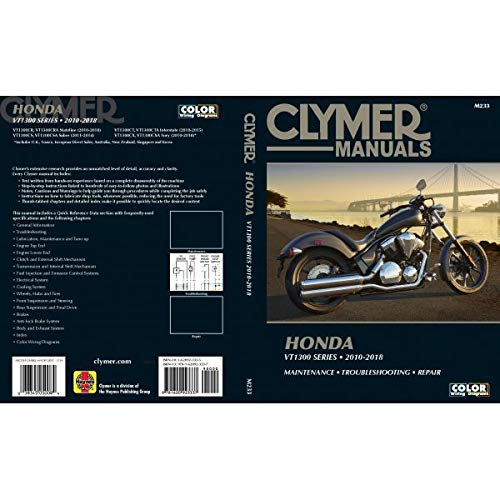 Honda VT1300 Series 2010-18 (Clymer Powersport) (Engine Management Honda)