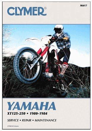 80-84 YAMAHA XT250 Clymer Service Manual