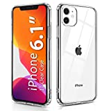 Wireless : OULUOQI Compatible with iPhone 11 Case 2019, Shockproof Clear Case with Hard PC Shield+Soft TPU Bumper Cover Case for iPhone 11 6.1 inch.