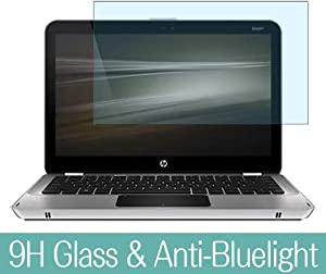 """Synvy Anti Blue Light Tempered Glass Screen Protector for HP Envy 13-1000 / 1050ea / 1099eo / 1030nr / 1030ca 13.3"""" Visible Area 9H Protective Screen Film Protectors"""