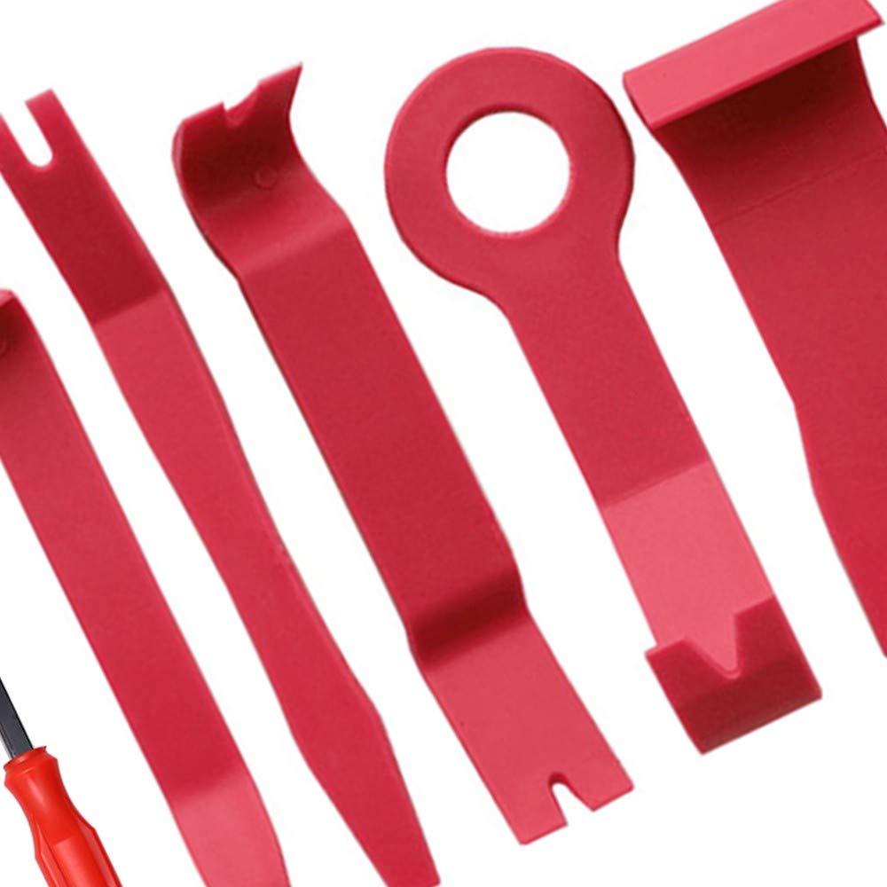 Strumento Di Rifinitura E Rimozione 3 Pcs Set Di Strumenti Per La Rimozione Del Pannello Porta Multifunzione Per Il Montaggio E La Rimozione Di Pannelli Per Auto