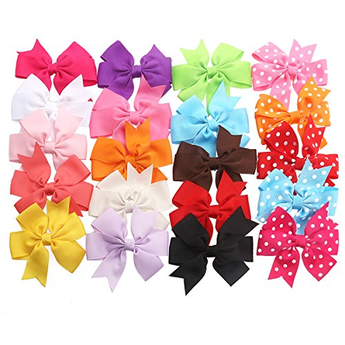 TinkSky Bows 15 Alligator Grosgrain Headbands