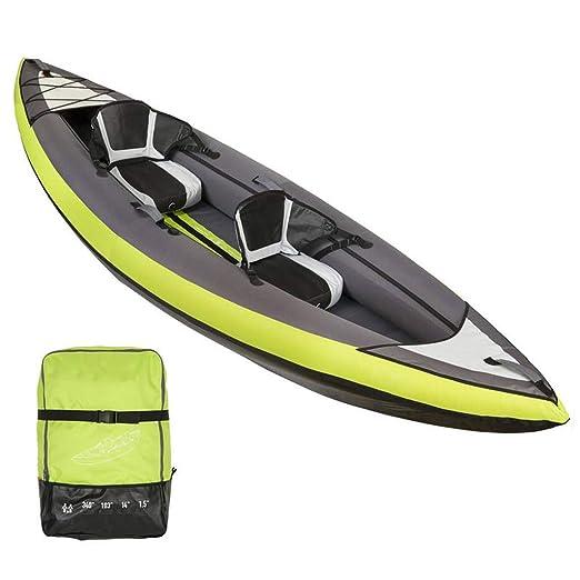 AA-PHUJ DMUC Kayak Yukon Inflable, Canoa Canadiense para 2 ...
