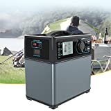 POWEROAK-Powerhouse-Compact-400Wh-123lb-Portable-Outlet-Power-Source-Generator-Lithium-ion-Power-Supply-for-Camping-Emergency-Backup-with-Silent-DCAC-Power-Inverter-12V-Car-AC-USB-Output