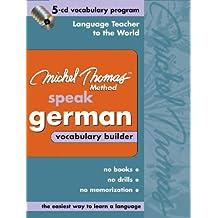 Michel Thomas German Vocabulary Builder: 5-CD Vocabulary Program