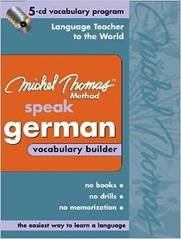 //UPD\\ Michel Thomas German Vocabulary Builder: 5-CD Vocabulary Program (Michel Thomas Series). series Castrol quieres Servicio stocks Property Crear units