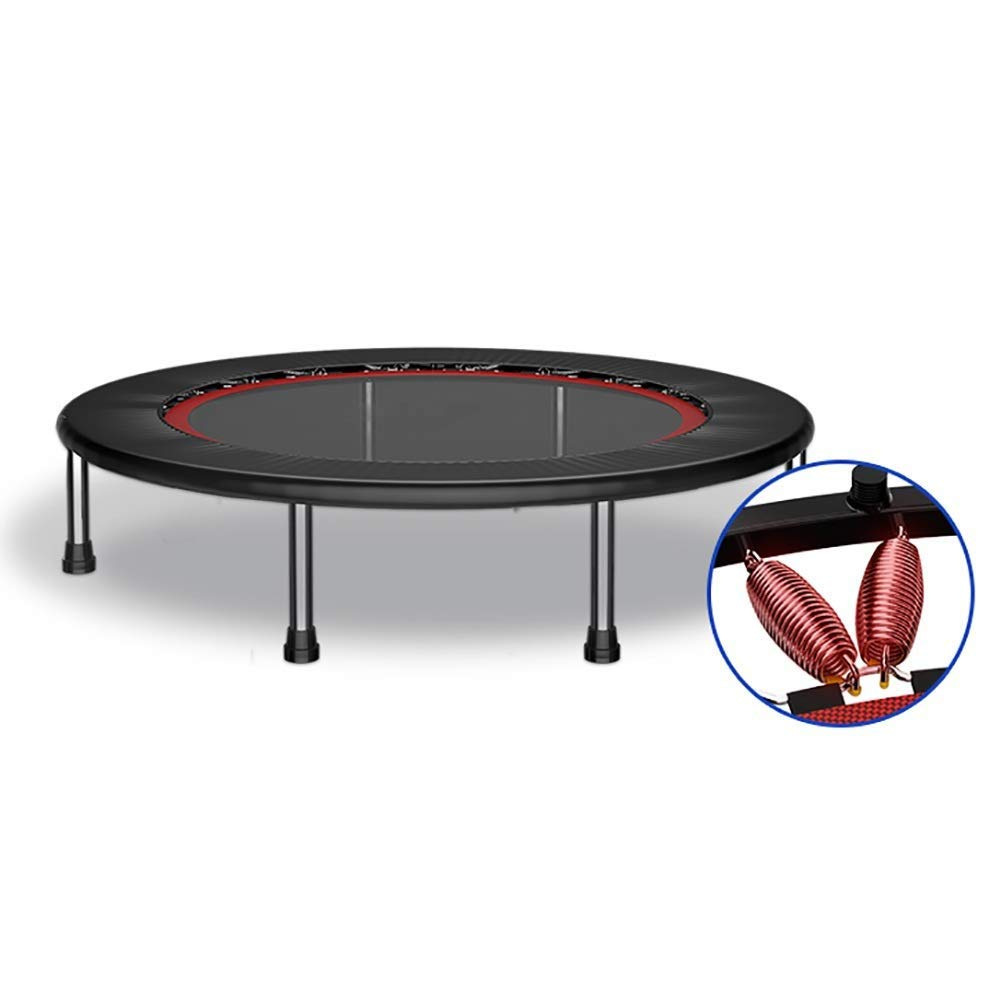 Trampoline, 50 Inches Fitness Shaping Foldable Bouncing Bed Bold Steel Pipe Adult Weight Loss Exercise/Aerobic Exercise Indoor/outdoor   B07Q4BSFW9