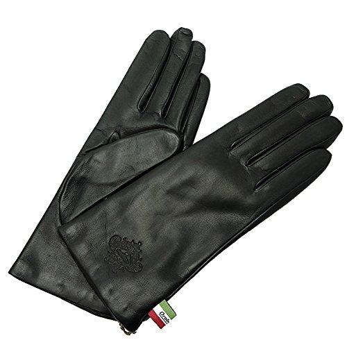 倫理万一に備えて隣接するOrobianco(オロビアンコ) ORL-1582 手袋 レザーグローブ レディース (ブラック, 7(20cm))