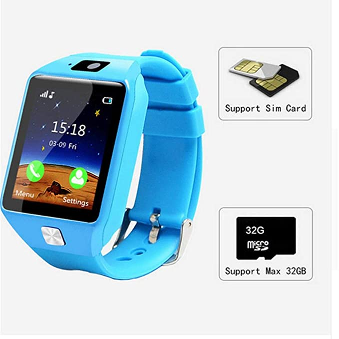 Amazon.com: idyllic Kids Smart Watch - Smartwatch for Boys Girls, Digital Watch with Call Voice Chat Alarm Clock, Children Sports Wrist Watch Birthday: ...