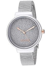 Nine West NW/2397SVSV - Reloj de pulsera para mujer, color plateado