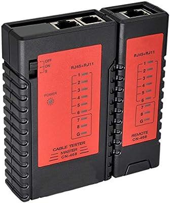 Ethernet Cable Tester RJ45 RJ11 RJ12 CAT5E CAT6 Network Test UTP//STP Cable