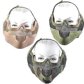 2398 newtactical Stahl Net Mesh Maske Tactical Jagd Metall Draht ...