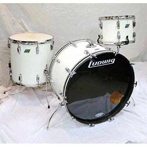 Ludwig/1970s 24-13-16 3点 White Cortex ラディック ドラムキット B07DGMJQ5K