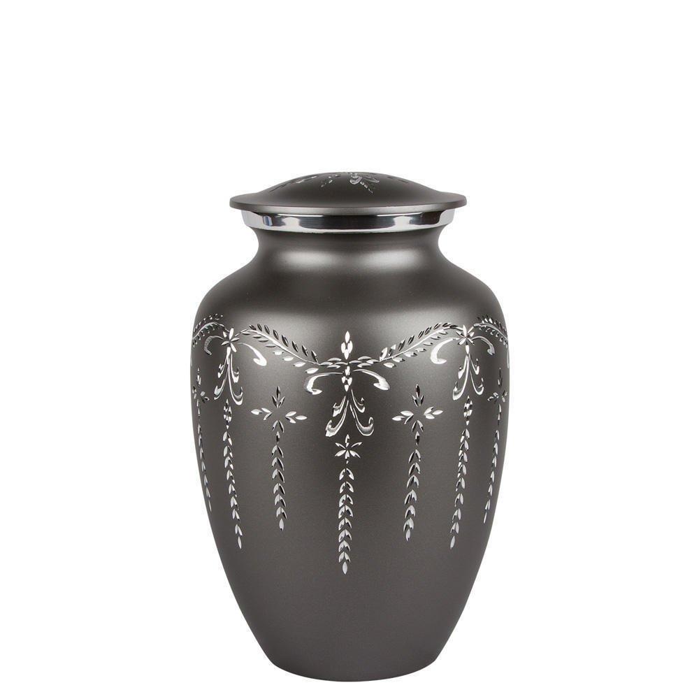 Perfect Memorials Medium Fancy Flourish Cremation Urn by Perfect Memorials