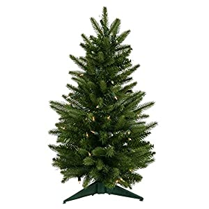 Vickerman Pre-lit Frasier Fir Tree with 50 Clear Dura-Lit Lights 110