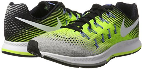 Compétition Nike volt Air Pegasus Matt Homme schwarz weiß Multicolore Running Chaussures silber 33 De Zoom SS0WOqwr