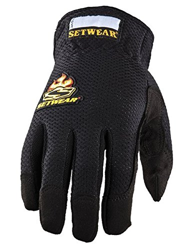 (SetWear EZ-Fit Gloves, Pair Large (Size 10) Approximatly 4-4.5