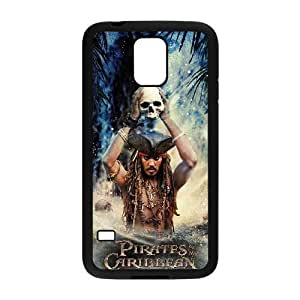 Samsung Galaxy S5 Phone Cases Black Pirates of the Caribbean EKH423560