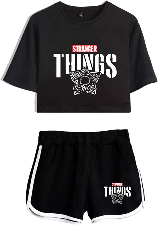 Conjunto Mujer Top y Pantalones Cortos Stranger Things, Conjunto ...