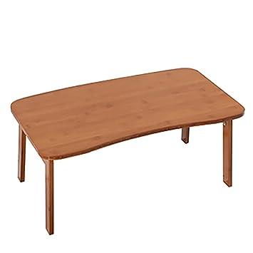 Amazon De Klapptisch Bambus Esstisch Tisch Tisch Kleine Tabelle