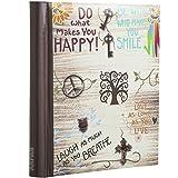 Arpan Large Self-Adhesive Magnetic Page Photo Albums - Life inspirational slogans Photo Album x 1