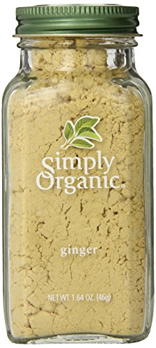 Simply Organic Ginger Root Ground Certified Organic Containers - 1.64 oz