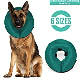 ProCollar Protective Inflatable Recovery Collar for Dogs and Cats - Soft Pet Cone